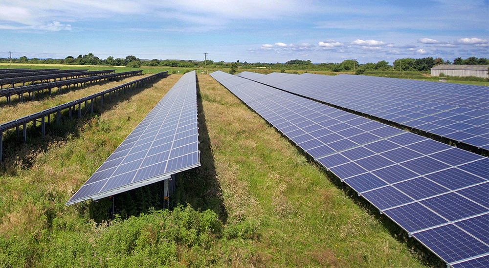 Large Scale Solar Parks Renewable Energy For Businesses